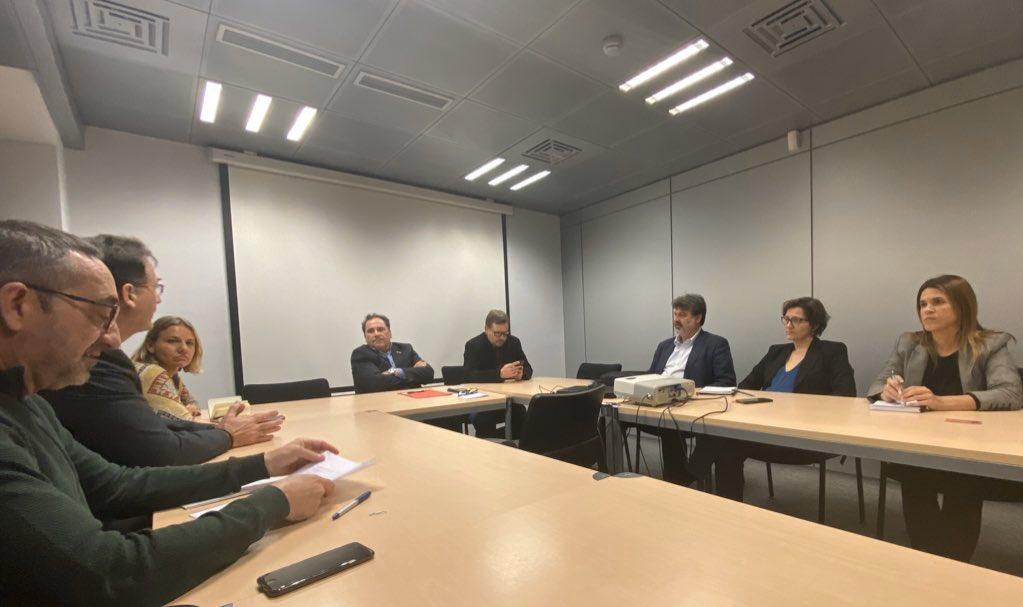 L'ACEDE es reuneix amb el Sr. Enric Vinaixa, director general de Relacions Laborals i amb el Sr. Josep Vidal, director general d'Economia Social