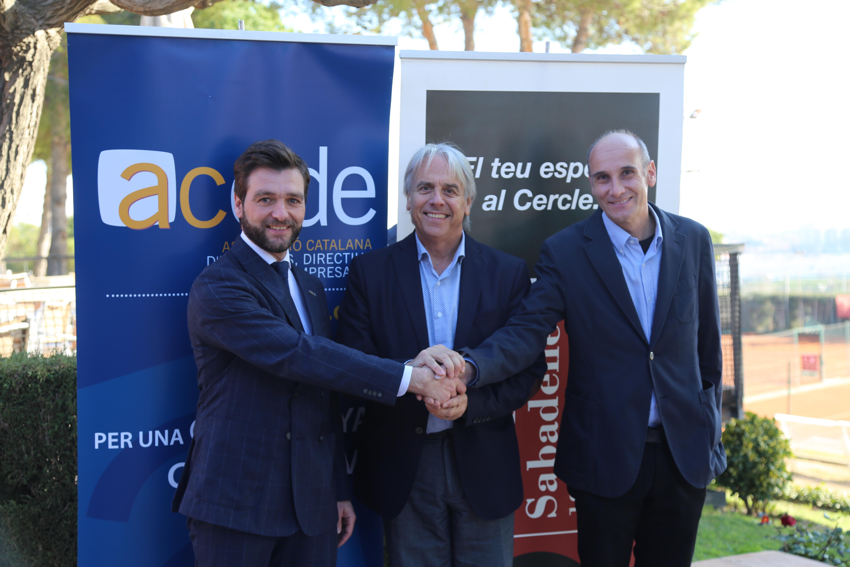 L'ACEDE firma un conveni de col·laboració amb el Cercle Sabadellès 1856