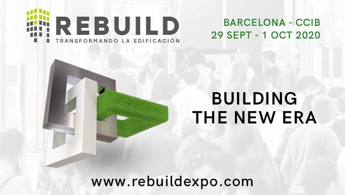Descompte del 50% per associats a l'ACEDE || REBUILD 2020 y Congreso Nacional de Arquitectura Avanzada y Construcción 4.0